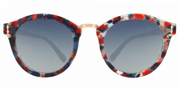 Cadence Oval Prescription Glasses - Red