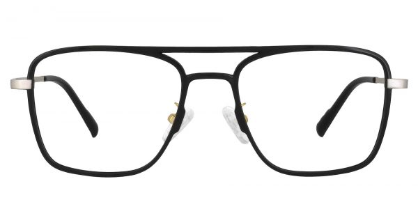 Largo Aviator Prescription Glasses - Black