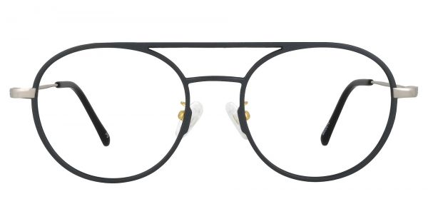 Carnaby Aviator Prescription Glasses - Gray