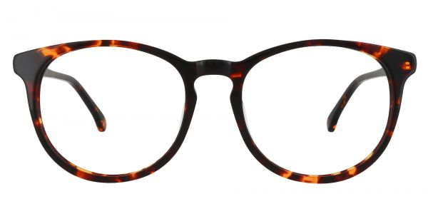 Carriage Round eyeglasses