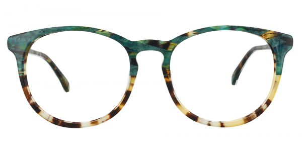 Carriage Round eyeglasses