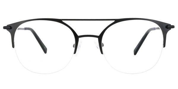 Downing Aviator Prescription Glasses - Black