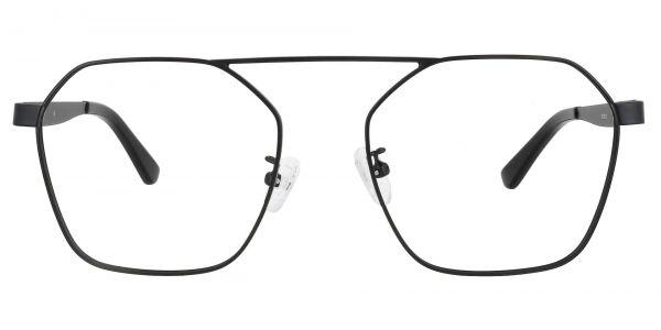 Oswald Aviator Prescription Glasses - Black