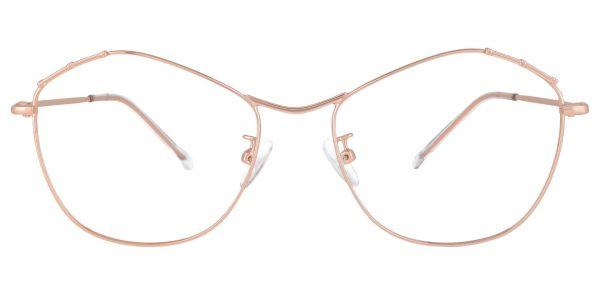 Bamboo Geometric eyeglasses