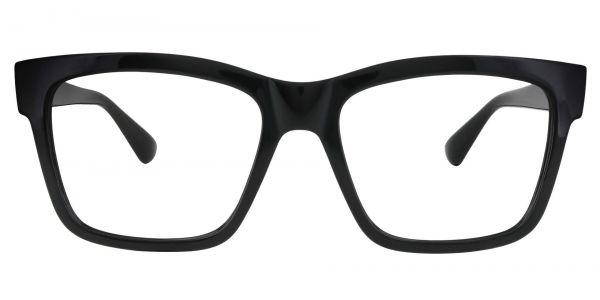 Brinley Square Prescription Glasses - Black