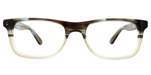 Denali Rectangle Prescription Glasses - Two-tone/Multi Color