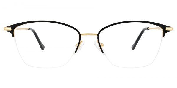 Marigold Rectangle Prescription Glasses - Black