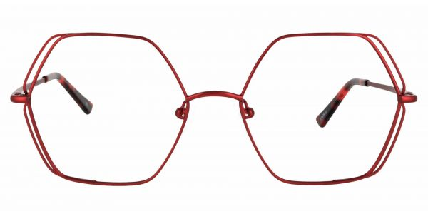 Hawley Geometric eyeglasses