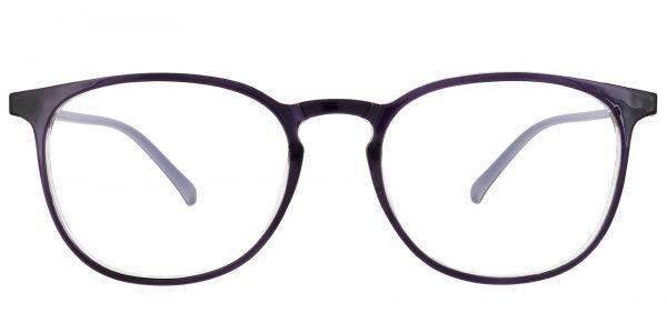 Selma Oval Prescription Glasses - Purple