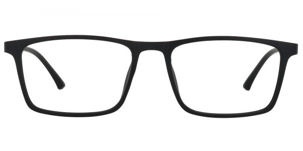 Lancaster Rectangle Prescription Glasses - Black