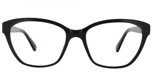 Melba Cat Eye Prescription Glasses - Black