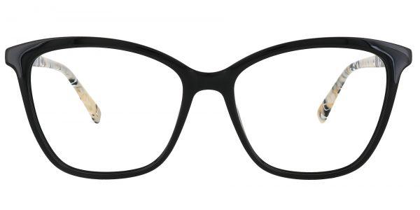 Glacier Square Prescription Glasses - Black