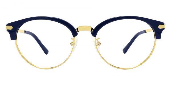 Forsyth Browline Prescription Glasses - Blue