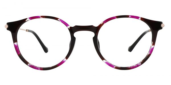 Hallie Round eyeglasses