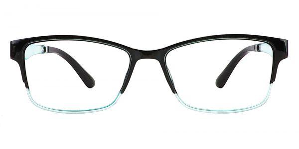 Cantwell Rectangle Prescription Glasses - Black