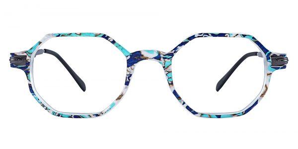 Bogart Geometric Prescription Glasses - Blue