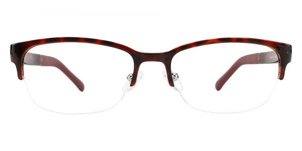 Baker Rectangle Prescription Glasses - Tortoise