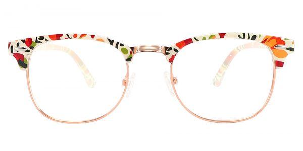 Hartley Browline Prescription Glasses - Two-tone/Multi Color