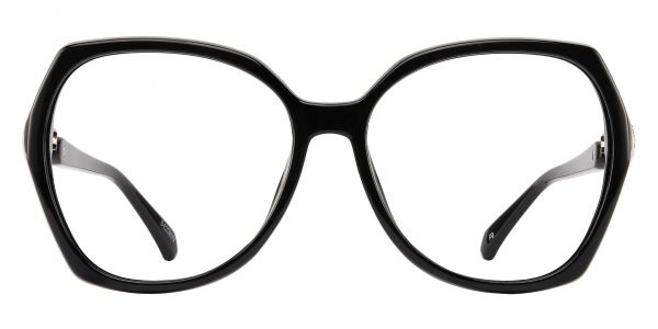 Solitaire Geometric eyeglasses