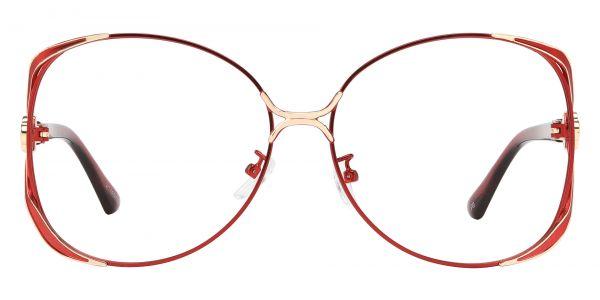 Origami Round eyeglasses