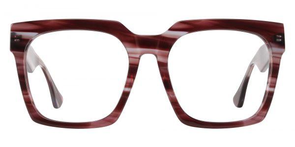 Harlan Square Prescription Glasses - Striped