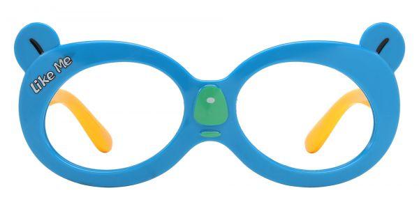 Tito Oval Prescription Glasses - Blue