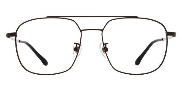 Trevor Aviator Prescription Glasses - Brown
