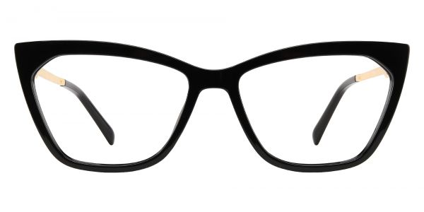 Addison Cat Eye Prescription Glasses - Black