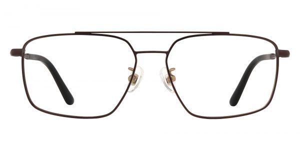 Barlow Aviator Prescription Glasses - Brown