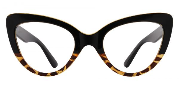 Melinda Cat Eye Prescription Glasses - Black