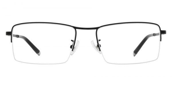 Wilmington Rectangle Prescription Glasses - Black