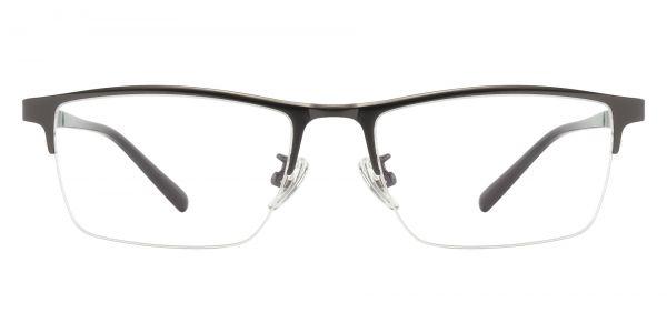 Maine Rectangle Prescription Glasses - Gray