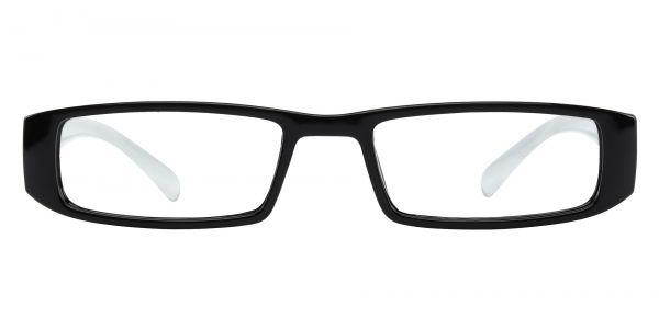 Buccaneer Rectangle Prescription Glasses - Black