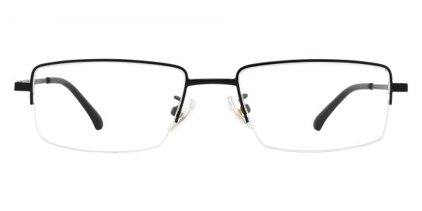 Waldo Rectangle Prescription Glasses - Black