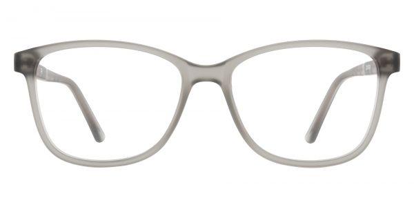 Argyle Rectangle Prescription Glasses - Gray