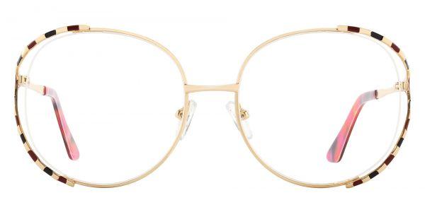 Dorothy Oval Prescription Glasses - Pink