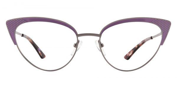 Adair Cat Eye Prescription Glasses - Purple