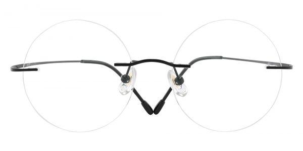 Marengo Rimless Prescription Glasses - Black