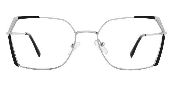 Beverly Geometric Prescription Glasses - Black