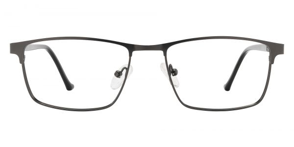 Flynn Browline Prescription Glasses - Gray