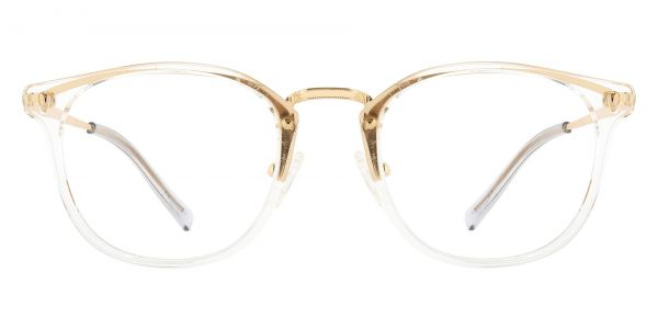 St. Clair Oval Prescription Glasses - Clear