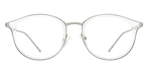 Ellsinore Oval Prescription Glasses - Clear