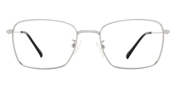 Sherwood Rectangle Prescription Glasses - Silver
