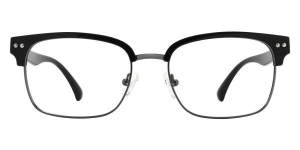 Bolivar Browline Prescription Glasses - Black