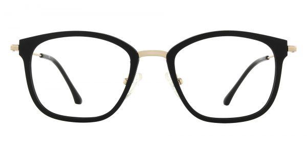 Brooklyn Square Prescription Glasses - Black
