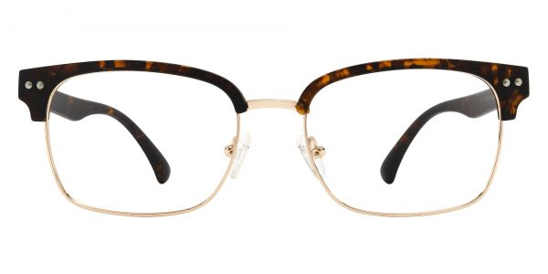 Bolivar Browline Prescription Glasses - Tortoise