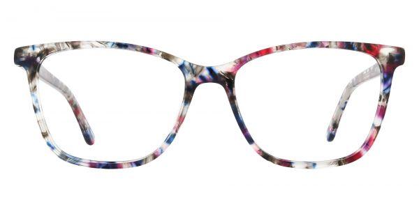 Winifred Rectangle Prescription Glasses - Floral