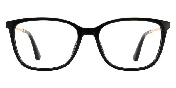 Miami Rectangle Prescription Glasses - Black