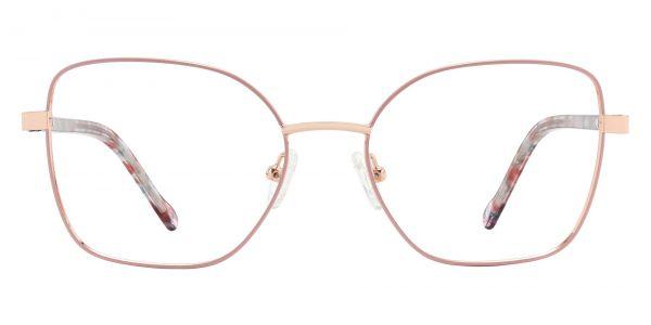 Hooper Geometric Prescription Glasses - Pink