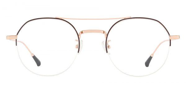 Tuxedo Aviator eyeglasses